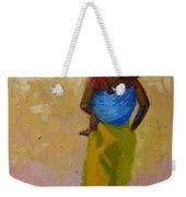 Woman With Baby Weekender Tote Bag