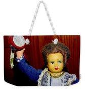 Woman With Tambourine Weekender Tote Bag