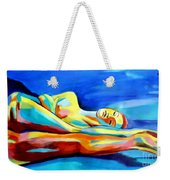 Womanly Figure Weekender Tote Bag