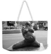Womans Torso Sculpture Grand Junction Co Weekender Tote Bag