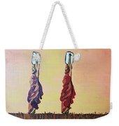 Woman's Worth - 2 Weekender Tote Bag