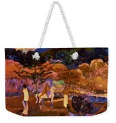 Women And White Horse 1903 Weekender Tote Bag