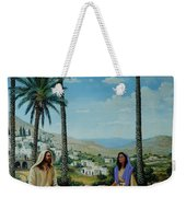 Women At The Well Weekender Tote Bag