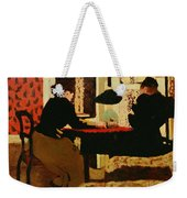 Women By Lamplight Weekender Tote Bag