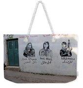 Women For Freedom Weekender Tote Bag