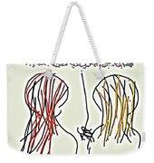 Women Hoping For Rain 2 Weekender Tote Bag