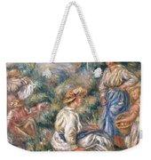 Women In A Landscape Weekender Tote Bag