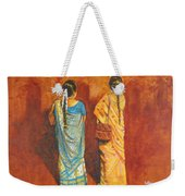 Women In Sarees Weekender Tote Bag