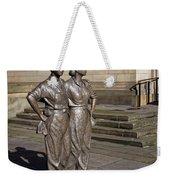 Women Of Steel Weekender Tote Bag