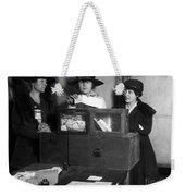 Women Voting, C1917 Weekender Tote Bag