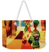 Women With Baskets Weekender Tote Bag