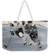 Women's Hockey Weekender Tote Bag by Richard Le Page