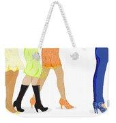 Womens Leg Dots Weekender Tote Bag