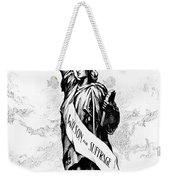 Womens Rights Cartoon, 1915 Weekender Tote Bag