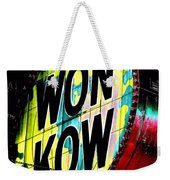 Won Kow, Wow 3 Weekender Tote Bag by Marianne Dow