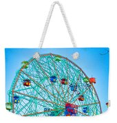 Wonder Wheel Amusement Park 1 Weekender Tote Bag