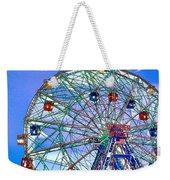 Wonder Wheel Amusement Park 3 Weekender Tote Bag