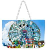 Wonder Wheel Amusement Park 6 Weekender Tote Bag