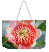 Wonderful Bright Pink Waratah Bud Weekender Tote Bag