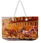 Wonderful Carriage Ride Weekender Tote Bag