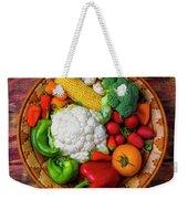 Wonderful Fresh Vegetables Weekender Tote Bag