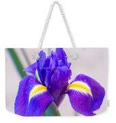 Wonderful Iris With Dew Weekender Tote Bag