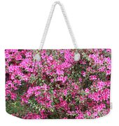 Wonderful Pink Azaleas Weekender Tote Bag
