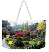 Wonderful Sunken Garden In The Butchart Gardens,victoria,canada 1. Weekender Tote Bag