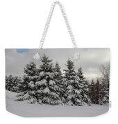 Wonderful Winter Weekender Tote Bag