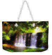 Wondrous Waterfall Weekender Tote Bag