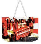 Wonders Of London Weekender Tote Bag