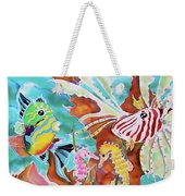 Wonders Of The Sea Weekender Tote Bag