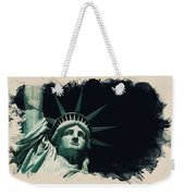 Wonders Of The Worlds - Lady Liberty Of New York 2 Weekender Tote Bag