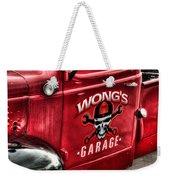 Wong's Garage Weekender Tote Bag
