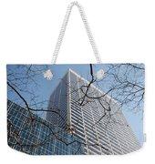 Wood And Glass Weekender Tote Bag