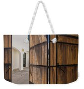 Wood And Iron Bi-fold Gate Weekender Tote Bag
