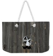 Wood And Wheel Weekender Tote Bag