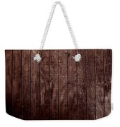Wood Weekender Tote Bag