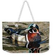 Wood Duck 1 Weekender Tote Bag