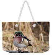 Wood Duck 3 Weekender Tote Bag