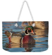 Wood Duck 4 Weekender Tote Bag