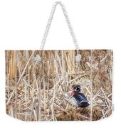 Wood Duck Drake 2 Weekender Tote Bag