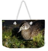 Wood Duck Female Weekender Tote Bag