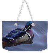 Wood Duck On The Delaware - 06 Weekender Tote Bag