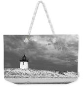 Wood End Lighthouse Provincetown Weekender Tote Bag