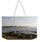 Wood Island Lighthouse 1 Weekender Tote Bag