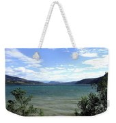 Wood Lake In Summer Weekender Tote Bag