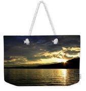 Wood Lake Sunburst Weekender Tote Bag