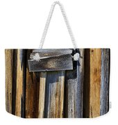 Wood On Wood Weekender Tote Bag