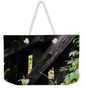 Wood Rail Underpass Weekender Tote Bag